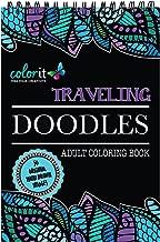 ColorIt Traveling Doodles Illustrated By Virginia Falkinburg