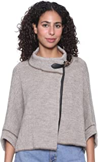 Andiamo Fashion Three-Quarter Sleeves Wrap Jacket for Women XXL-3XL