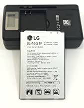 Original battery BL-46G1F 2800/2700mAh For LG K10 2017 K425 K428 K430H K20 Plus TP260 with universal battery charger