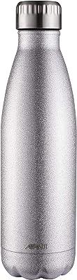 Avanti Hydration BottleFluid Vacuum Bottle, Glitter Silver, 12168