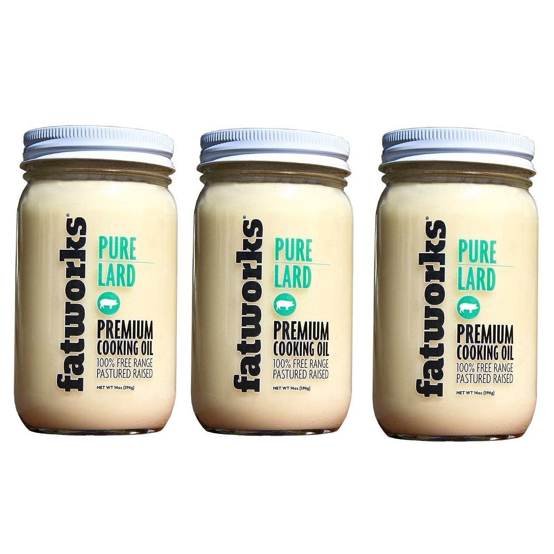 FatWorks Pure Pork Lard Free Range Pasture Raised 3 Genuine 14oz Mesa Mall P -
