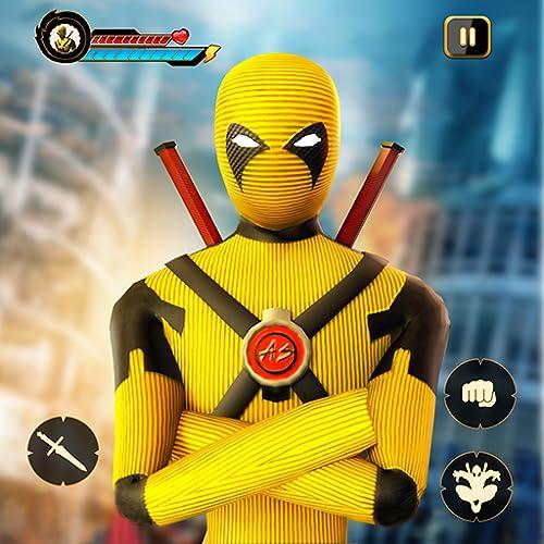 Stickman Dead Rope Hero- Ultimate Superhero Games