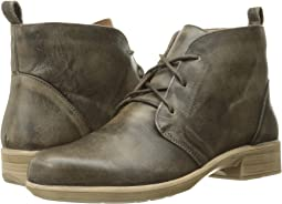 Vintage Gray Leather