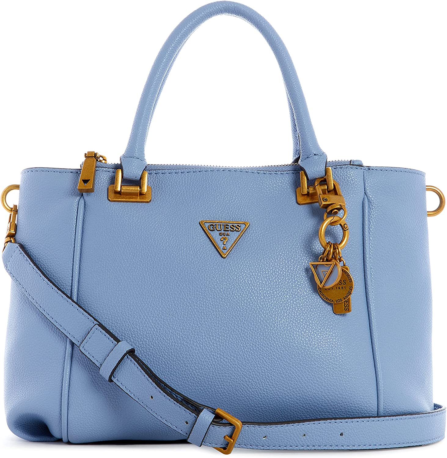GUESS Destiny Popular brand Fixed price for sale Satchel Status