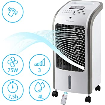 Bakaji - Climatizador evaporativo, humidificador, ventilador de ...