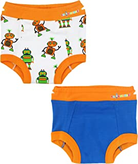 Ez Undeez Toddler Underwear Boys Girls Padded Potty Training Pants Easy Pull Ups