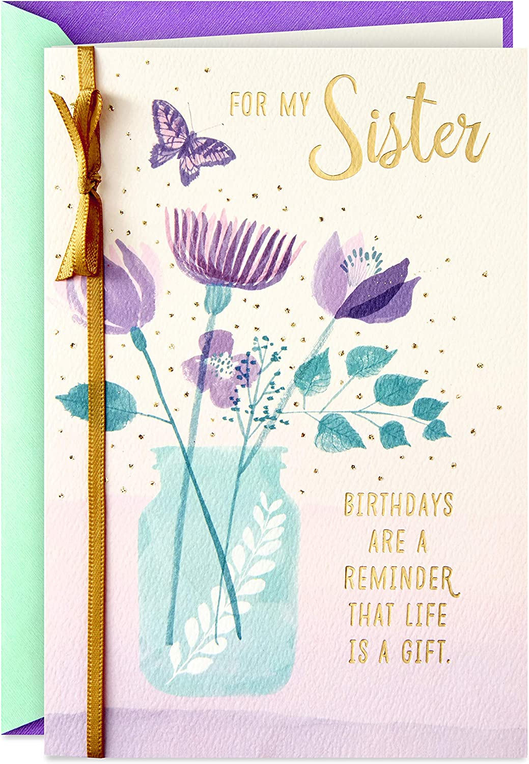Hallmark Birthday Card for Sister is Ranking TOP8 Gift Life Super beauty product restock quality top a
