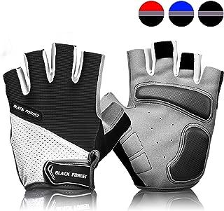 COOLOO Cycling Gloves Bike Gloves Mountain Road Bike Gloves Anti-Slip Shock-Absorbing Pad Breathable Half Finger Bicycle Biking Gloves for Men & Women