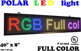 LED RGB Color Sign 40