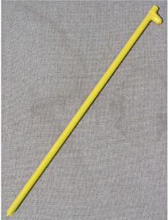 Forged Head Stake,  24L,  Yellow