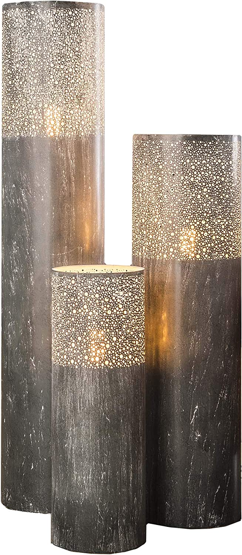 Stehlampe Industrial Zylinder Betonoptik in drei Gren (60 cm)