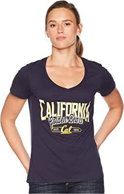 Cal Bears University V-Neck Tee