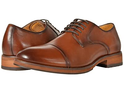 Florsheim Blaze Cap Toe Oxford (Cognac Smooth) Men