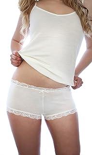 Nature's Secret - 100% Merino Wool Women's Boy Short Knickers Underwear - Made in New Zealand