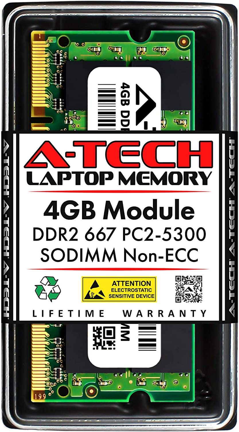 RAM Memory Upgrade Kit for The Acer Aspire AS7112WSMi 2x1GB PC2-5300 DDR2-667 2GB