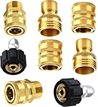 DIJIAHUA Adapter Set for Pressure Washer, M22-14mm Quick Connector Kit, 8- Pack