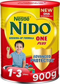 Nestlé NIDO One Plus Growing Up Milk Powder Tin For Toddlers 1-3 Years, 900g (Pack Of 1)