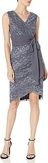 Marina Women's Short Multi Tiered Lace Dress