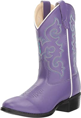bef08071d1f Old West Kids Boots J Toe Western Boot (Toddler/Little Kid) | Zappos.com