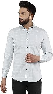 FASHION RITMO Men's Checks Casual Shirt