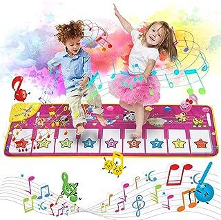 Music Piano Mat, Piano Keyboard Playmat Dance Mat Electronic