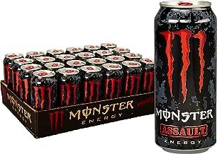 Monster Energy Assault, Energy Drink, 16 Ounce
