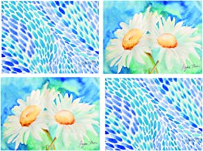 ArtFuzz Daisy Sunshine Collection RgmPlacemats Set of4 18X13