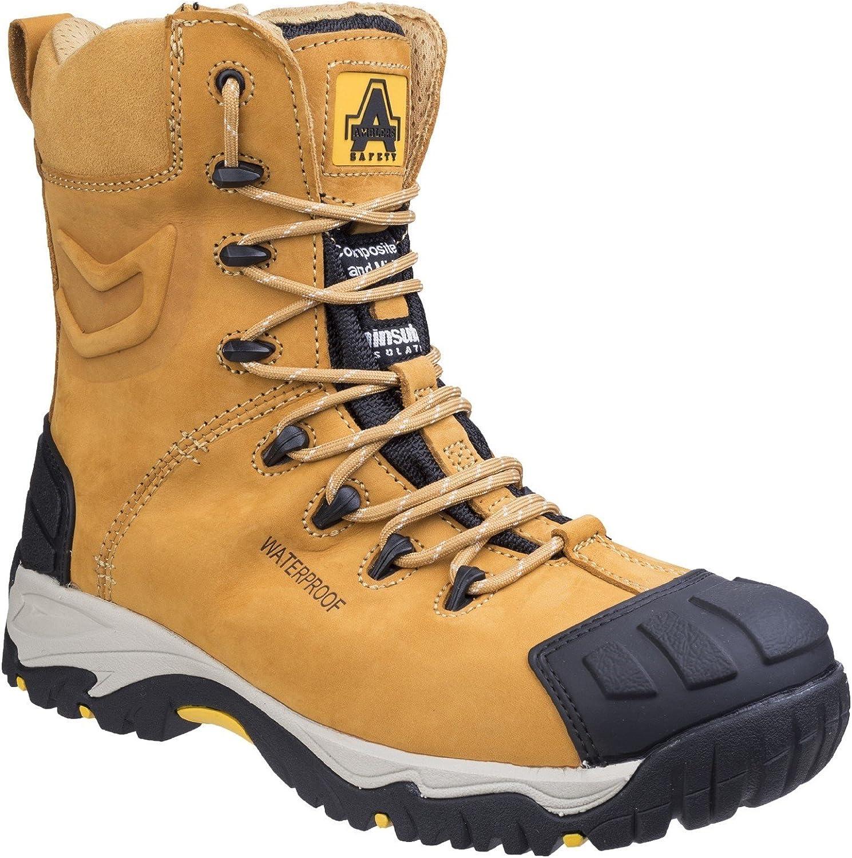 Amblers Safety Mens FS998 Waterproof Lace up Safety Boot Honey Size UK 11 EU 46