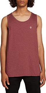 Men's Solid Heather Tank Top Shirt