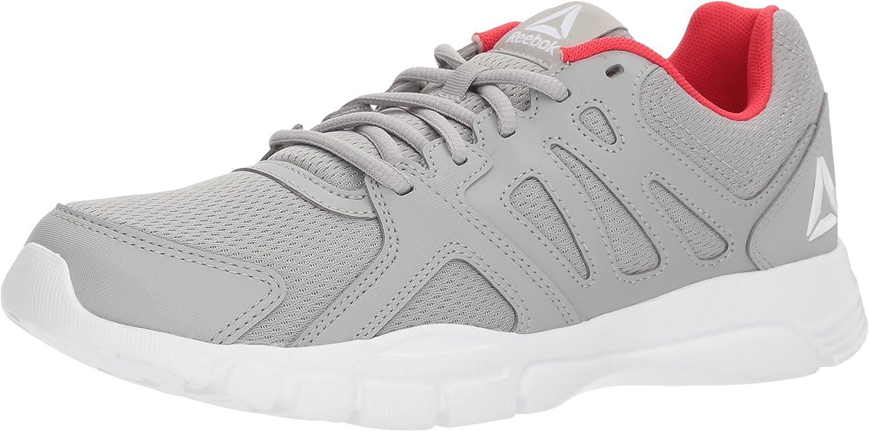Reebok M än's Training Nine 3.0 3.0 3.0 skor, Stark grå  vit  Primal röd, 6.5 D.M. USA  letar efter försäljningsagent