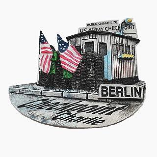 Checkpoint Charlie Berlin Germany 3D fridge magnet Home & kitchen decoration magnetic sticker Berlin Germany refrigerator ...