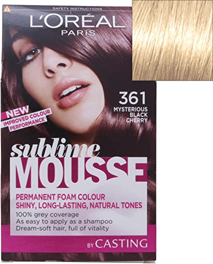 L Oreal Paris Sublime Mousse, pura luz rubia número 1000 ...