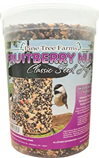Pine Tree 8005 Fruit Berry Nut Classic Seed Log, 28-Ounce