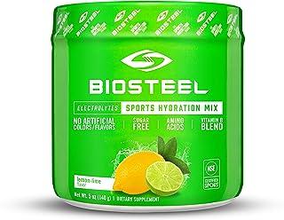 BioSteel Hydration Mix - Sugar Free, Essential Electrolyte Sports Drink Powder - Lemon-Lime - 20 Servings