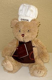Gund Godiva Plush Teddy Bear Sits 8 Inches