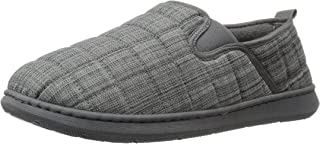 Men's MoccASIN Slippers with Memory Foam, Raymond Quilted Ultra Light , size 9 to 13