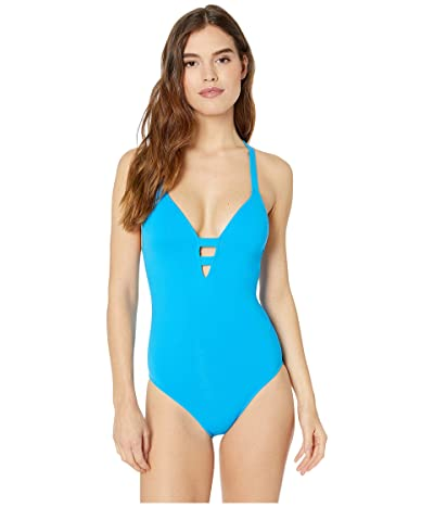 Seafolly Active Long Line Fit Maillot (Electric Blue) Women