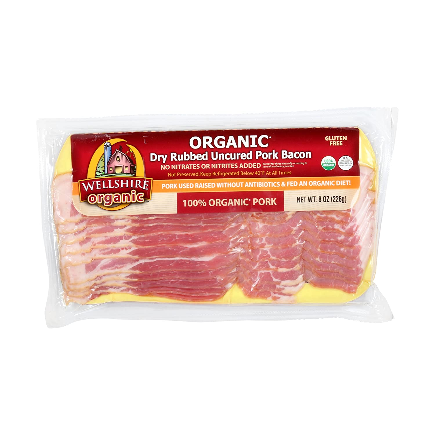 Wellshire Farms Organic Uncured Bacon oz National uniform free sold out shipping 8