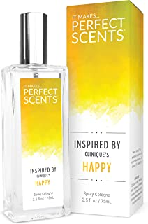 Perfect Scents Inspired by Clinique's Happy - Fragrance for Women - 2.5 Fluid Ounces