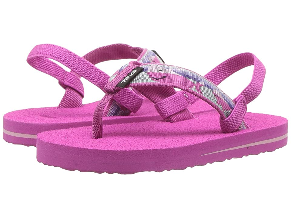 Teva Kids Mush II (Toddler) (Willy Pink) Girls Shoes