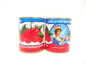 La Bella San Marzano Tomatoes, 28-Ounce Cans (Pack of 6)