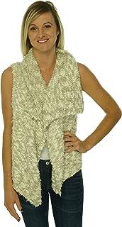 Women's Asymmetrical Sweater Vest (String Combo, Medium)