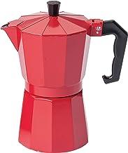 Krüger 501R Espressobryggare Italiano ROSSO Gr. 3 T, aluminium, röd