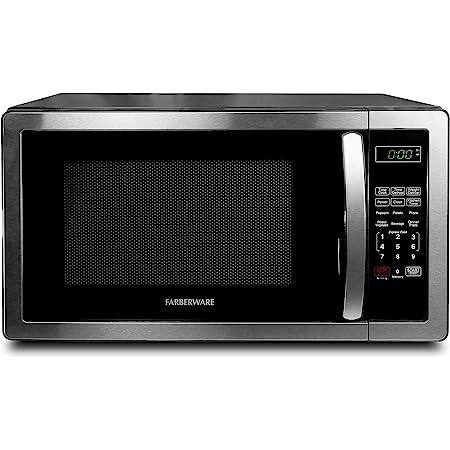 10 1 1 cu ft microwave oven black