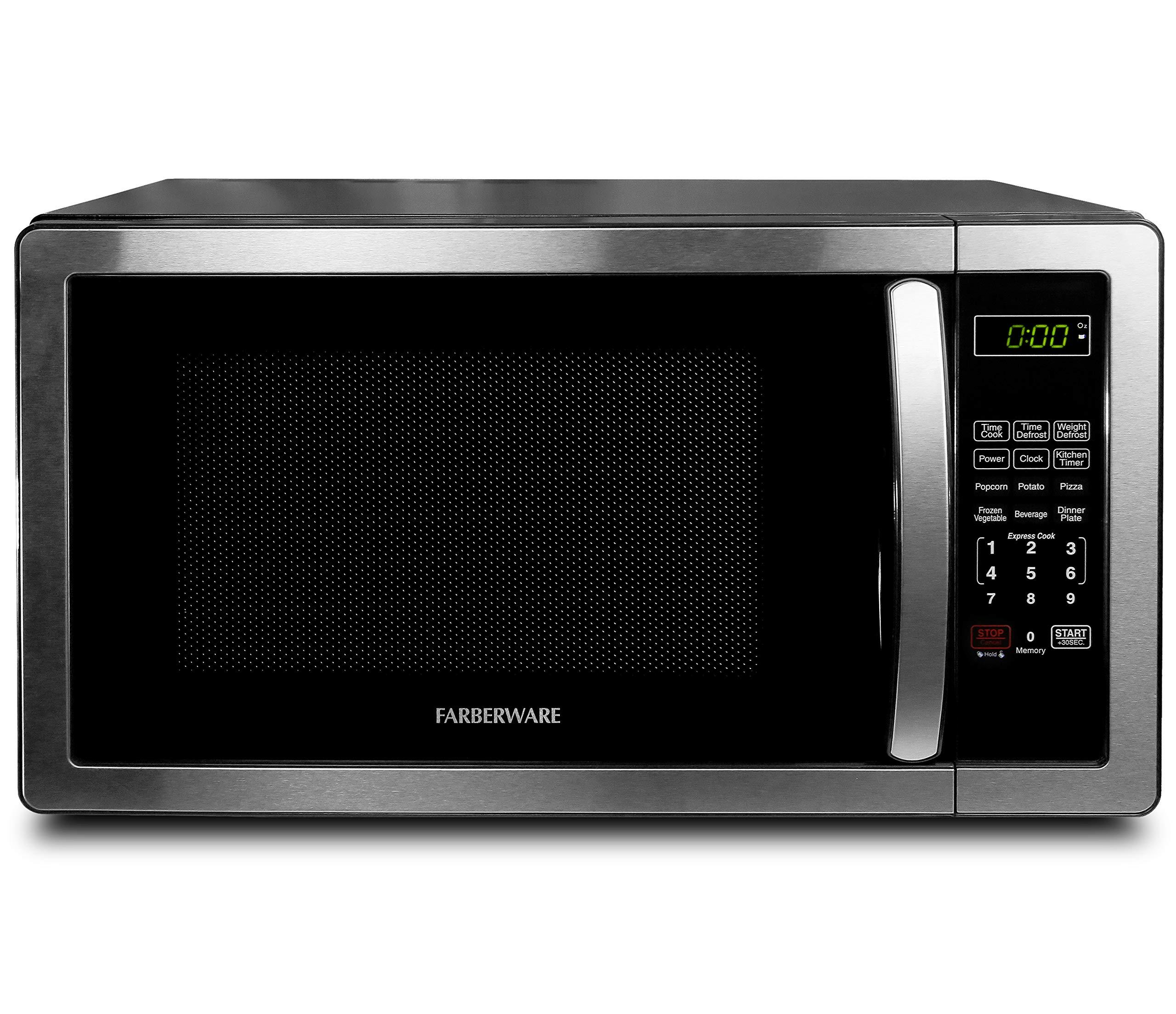 Farberware FMO11AHTBKB 1000 Watt Microwave Stainless