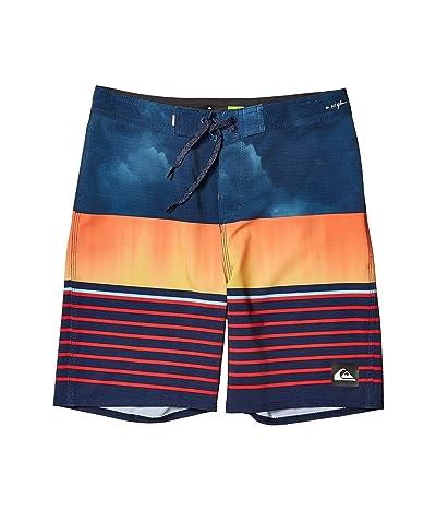Quiksilver Kids Highline Swell Vision 17 Boardshorts (Big Kids) (Moonlit Ocean) Boy