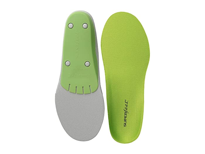 Superfeet Premium Green - Wide Fit (Green - Wide) Insoles Accessories Shoes