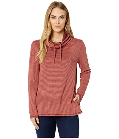 Toad&Co Cold Spring Pullover (Barbera Red Stripe) Women