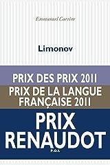 Limonov (Fiction) Format Kindle