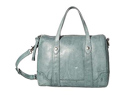 Frye Melissa Double Handle Satchel (Sky) Handbags